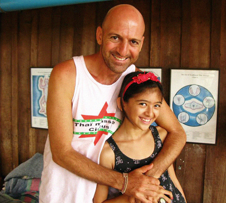 Itzhak and his daughter