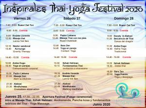 Inspirales Thai-Yoga Festival 2020